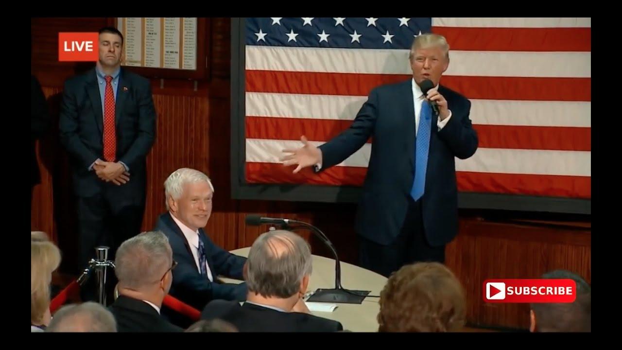 Full: Donald Trump Town Hall: Sandown, New Hampshire 10/6/16 1