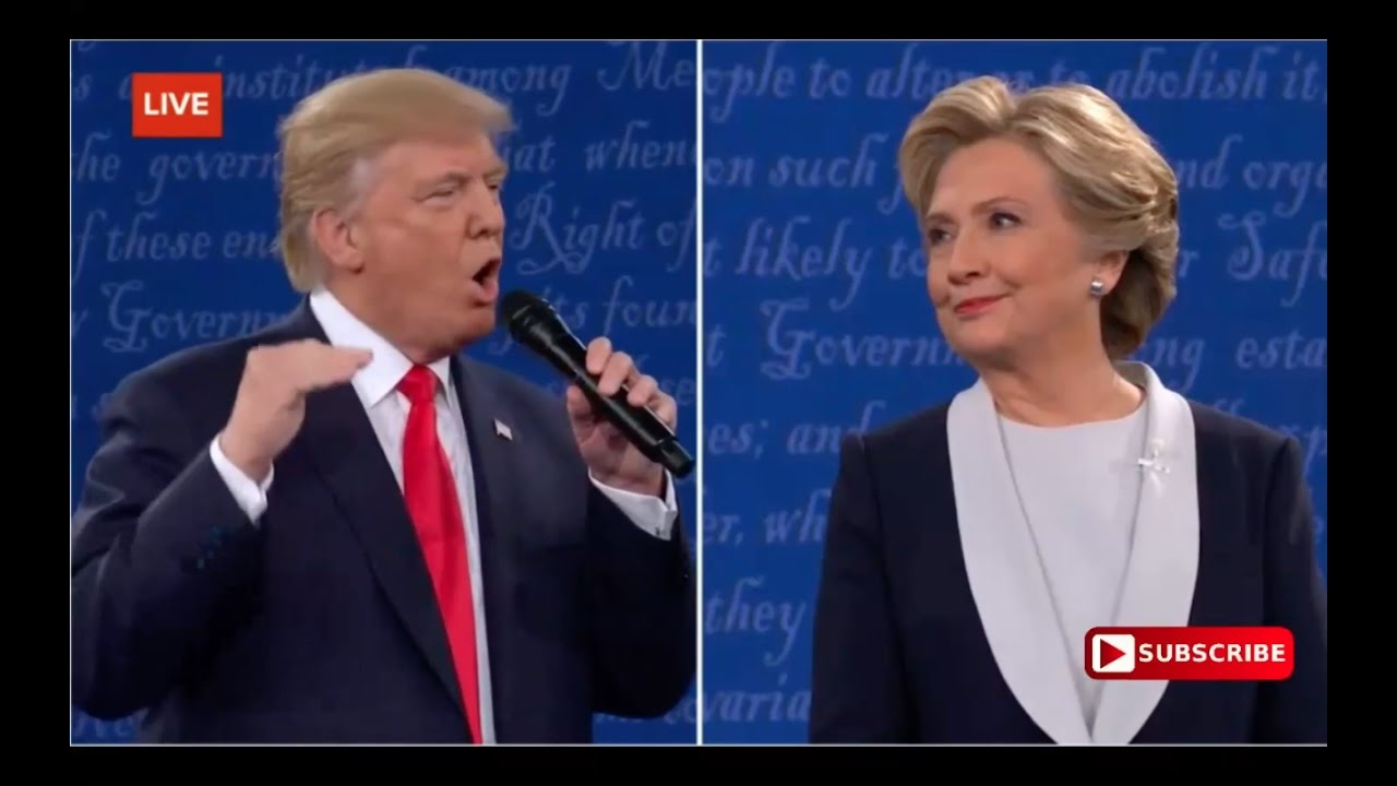Donald Trump Threatens to Prosecute Hillary When He's President! 10/9/16 6