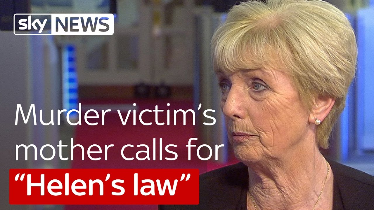 Murder victim's mother calls for Helen's Law 14