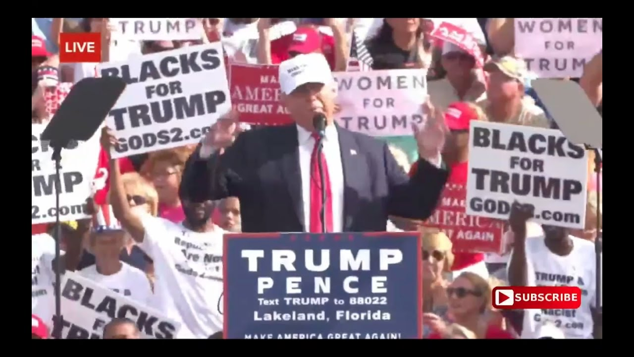 Donald Trump Speech 10/12/16: Lakeland, Florida Rally 6