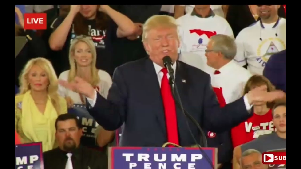 Donald Trump Speechless Over Hillary Clinton Corruption 10/12/16: Hilarious 11