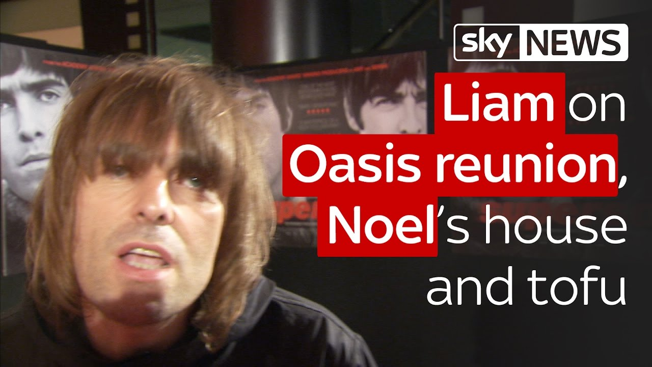 Liam on Oasis reunion, Noel and tofu 6