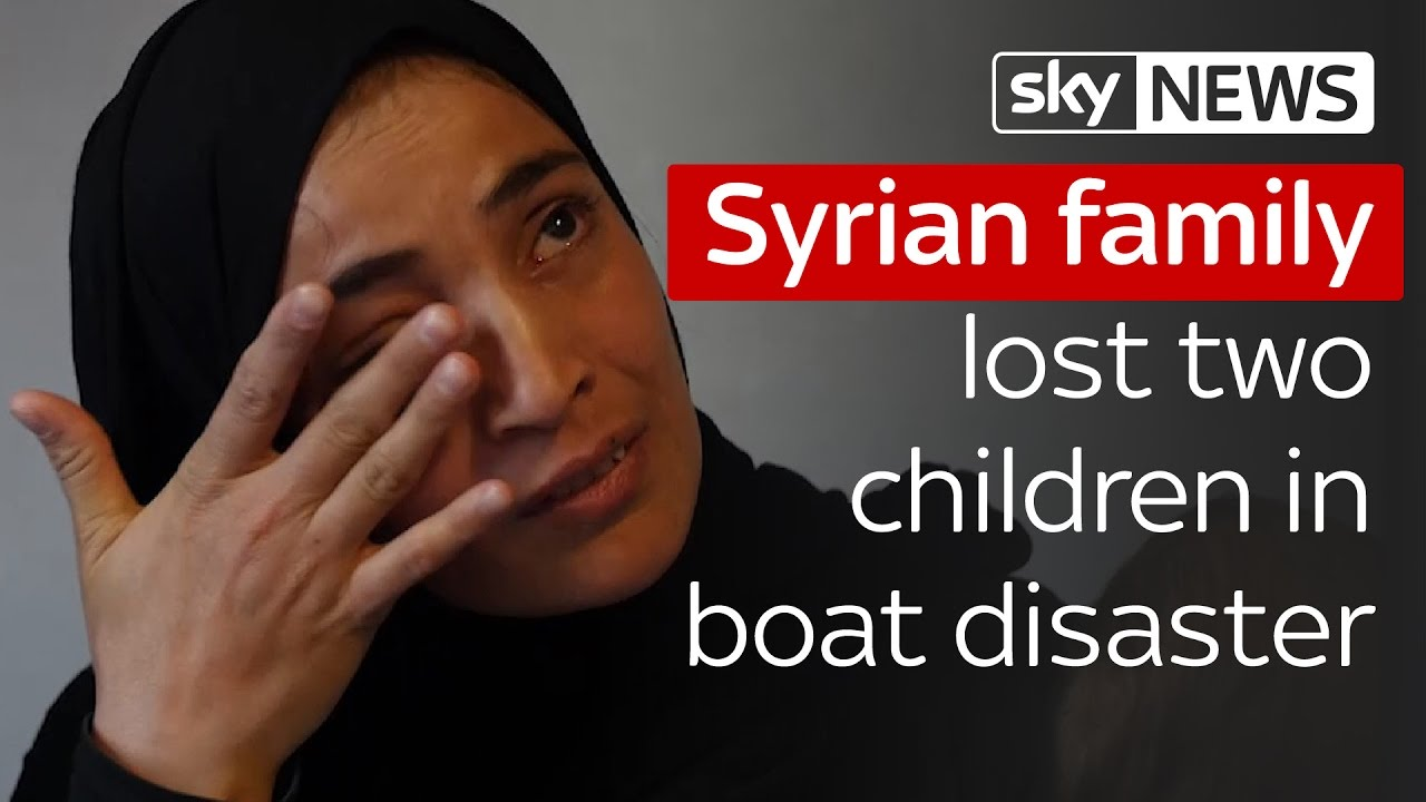 Syrian family lost two children in boat disaster 6
