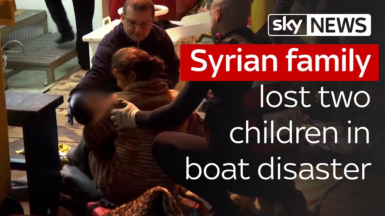 Syrian family lost two children on the way to Sweden 9