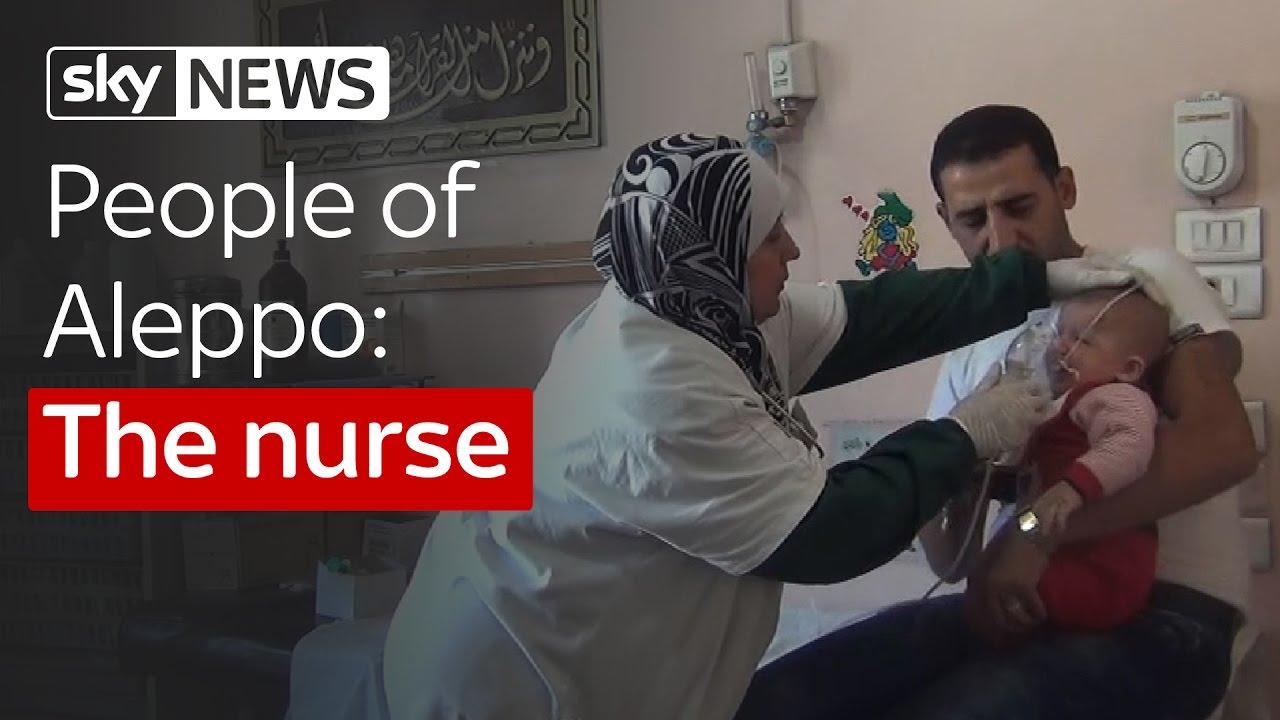 People of Aleppo: The nurse 5