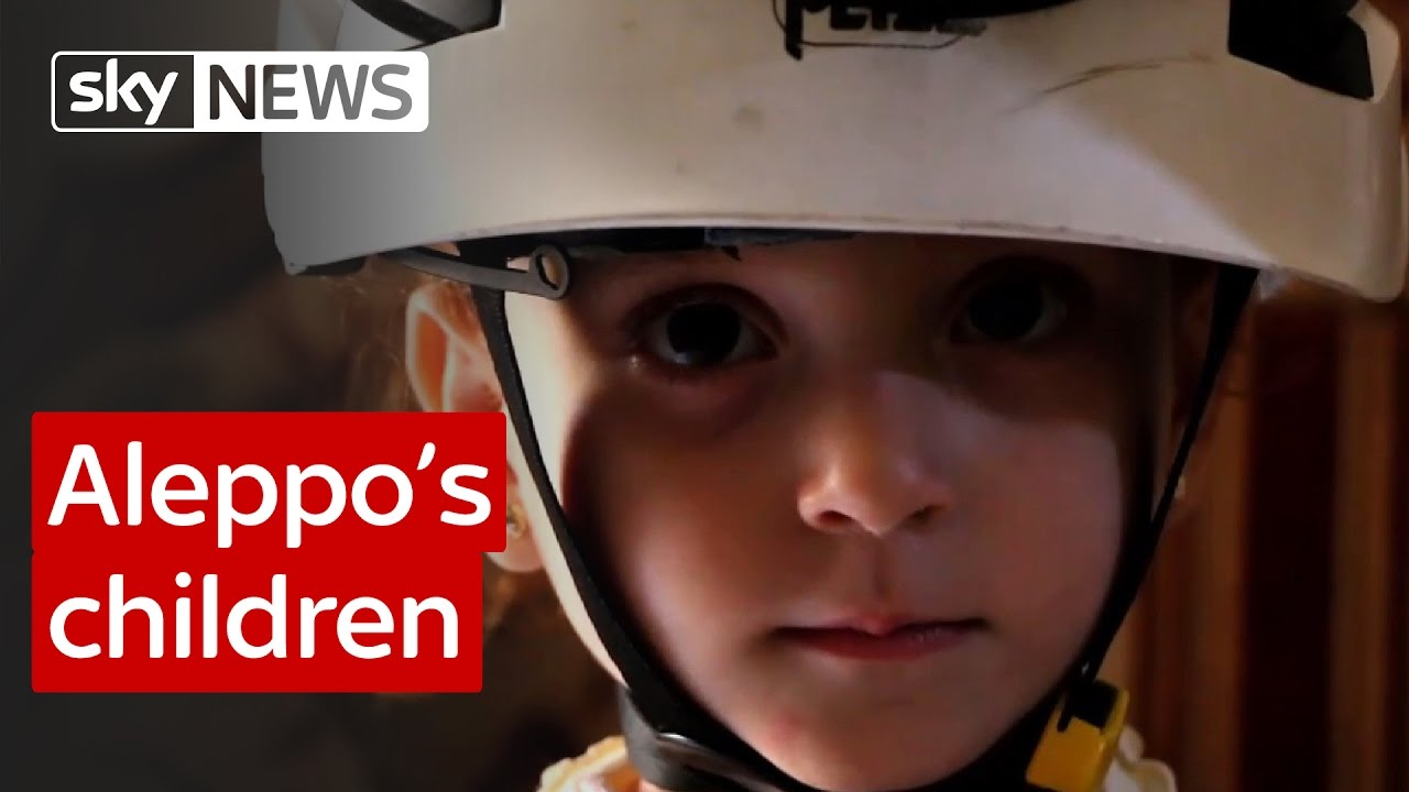Aleppo's children: Report from Sky's special correspondent 10