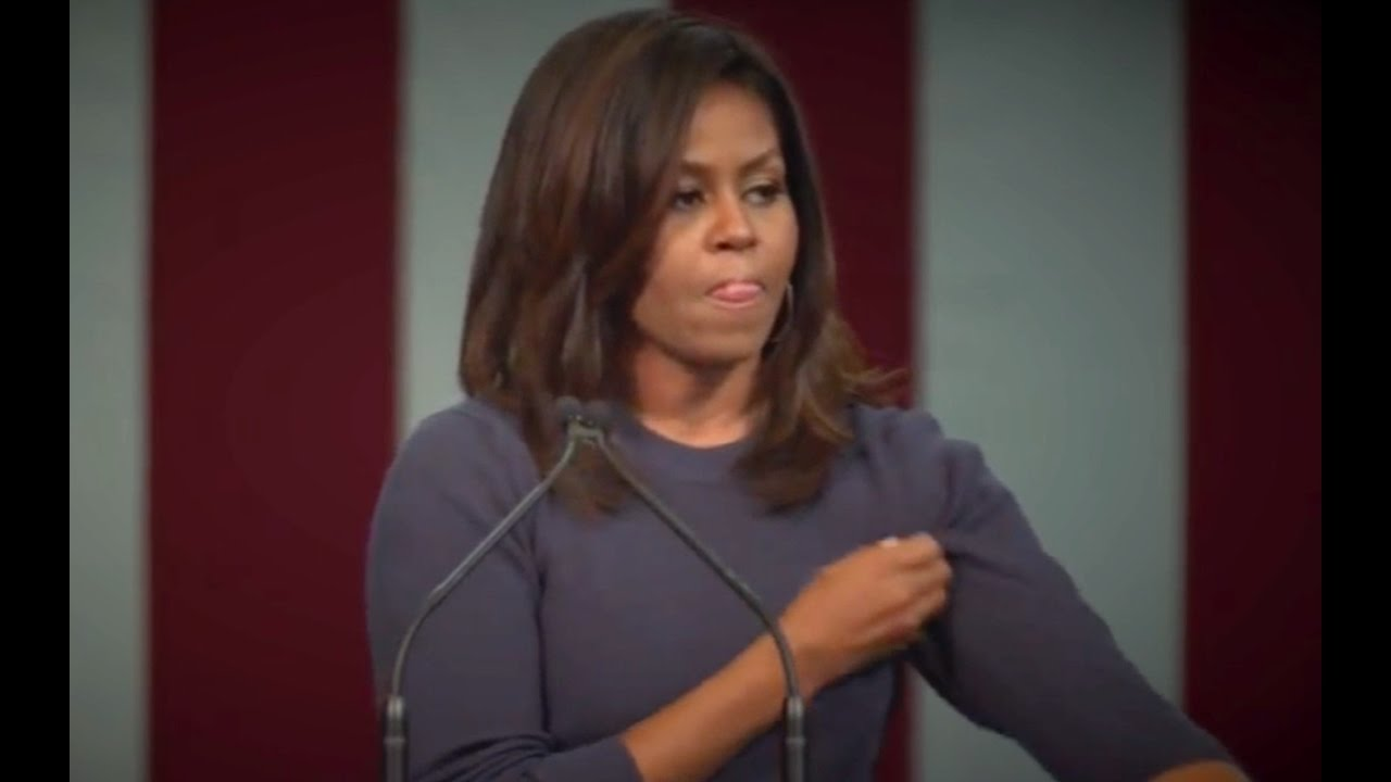 Michelle Obama Pissed! Goes After Donald Trump! 10/13/16 1