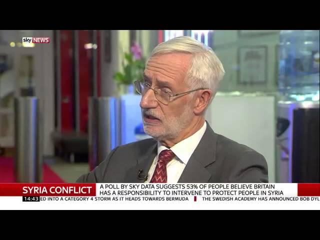 Abdulaziz Almashi and John McHugo interview on the Syria conflict 3