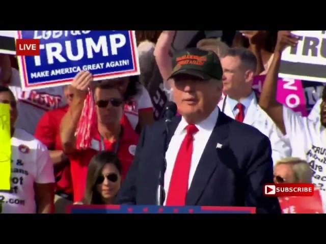 Full: Donald Trump Speech 10/25/16: Sandford, Florida 10