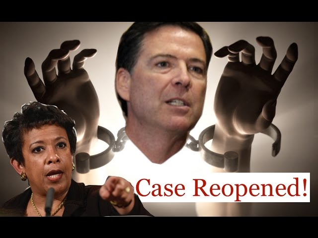FBI James Comey Breaks FREE from Loretta Lynch & DOJ! 10/29/16 4