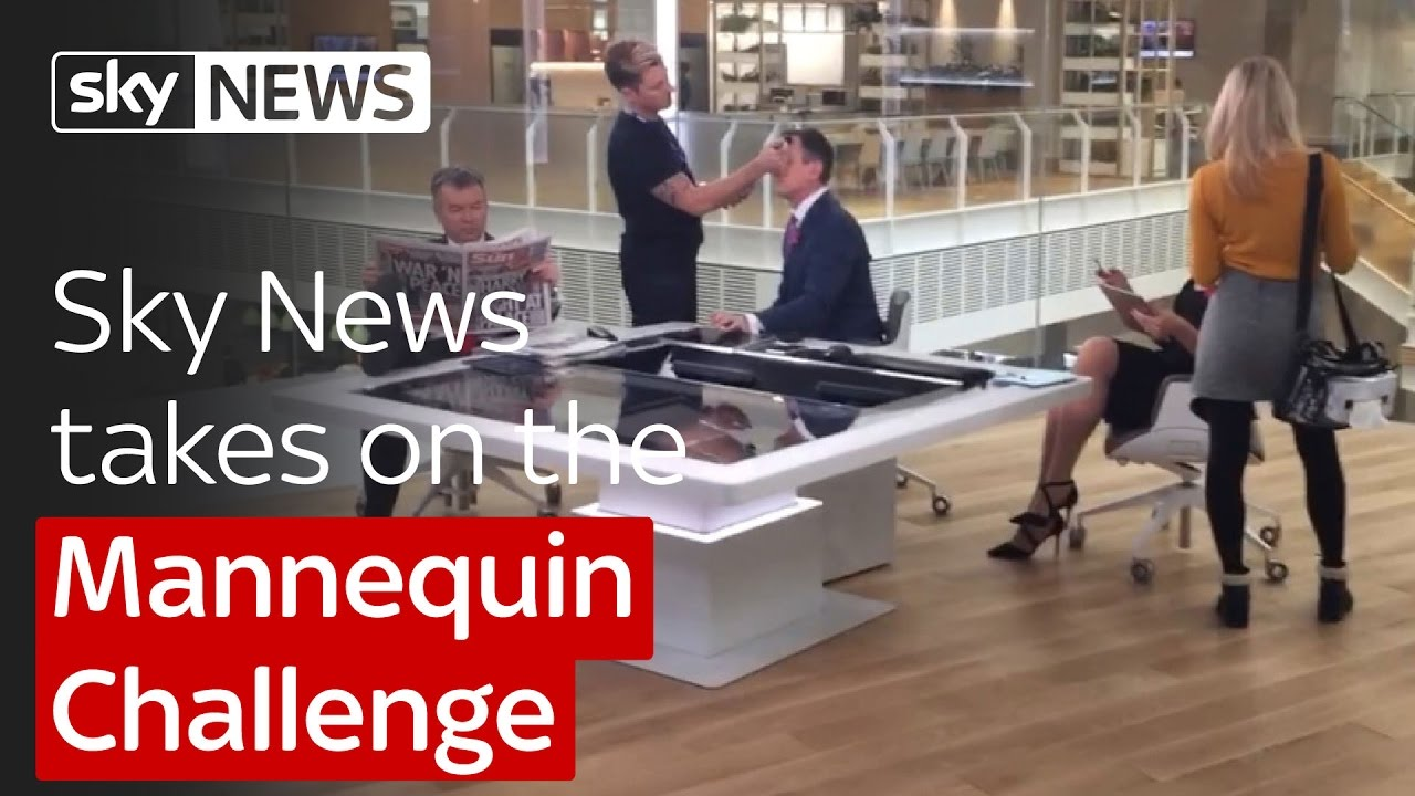 Sky News takes on the Mannequin Challenge 5