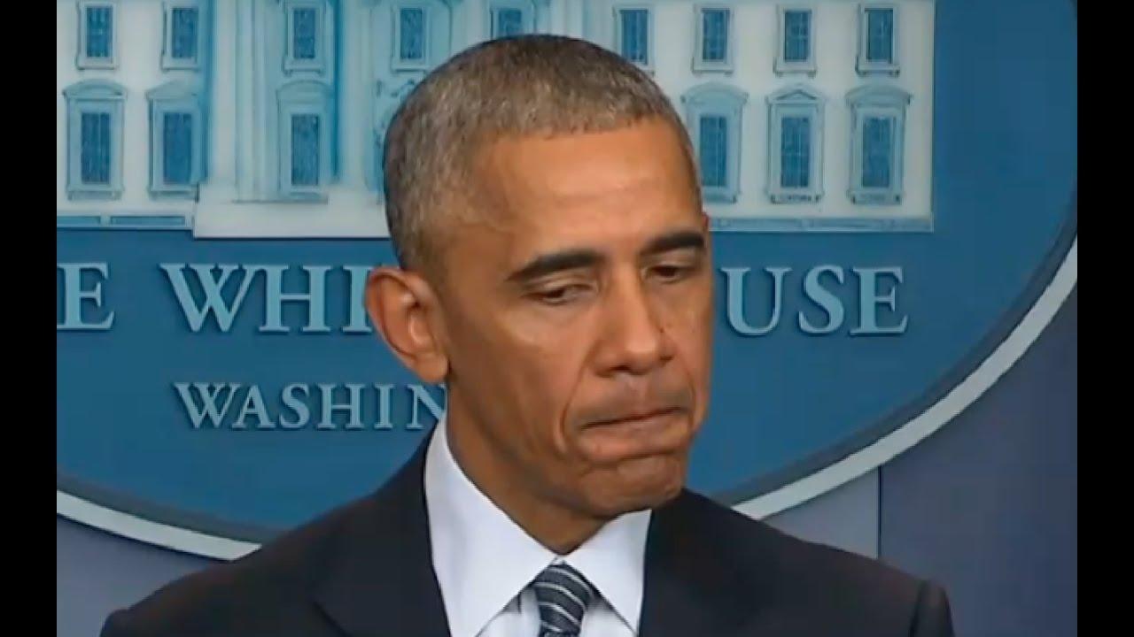 Obama Has Freudian Slip Talking About Donald Trump! 11/14/16 9