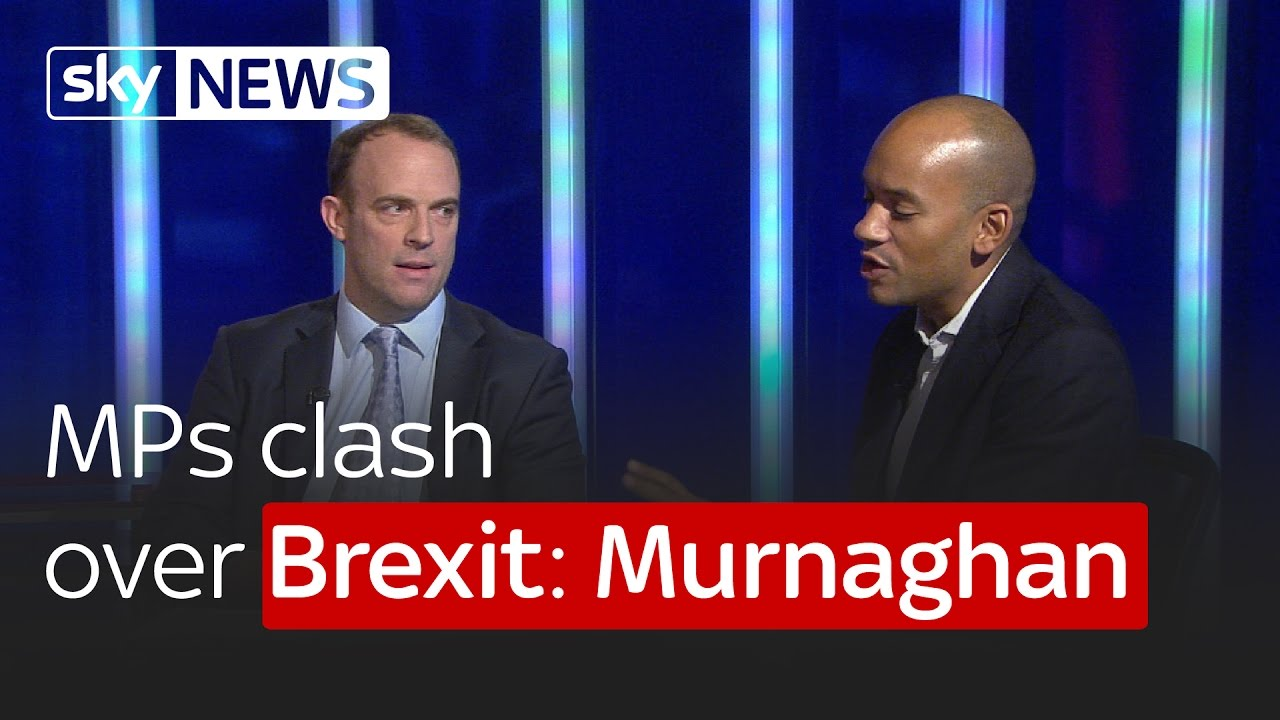 Remain MP Chuka Ummuna and Leave MP Dominic Raab clash over Brexit: Murnaghan 2