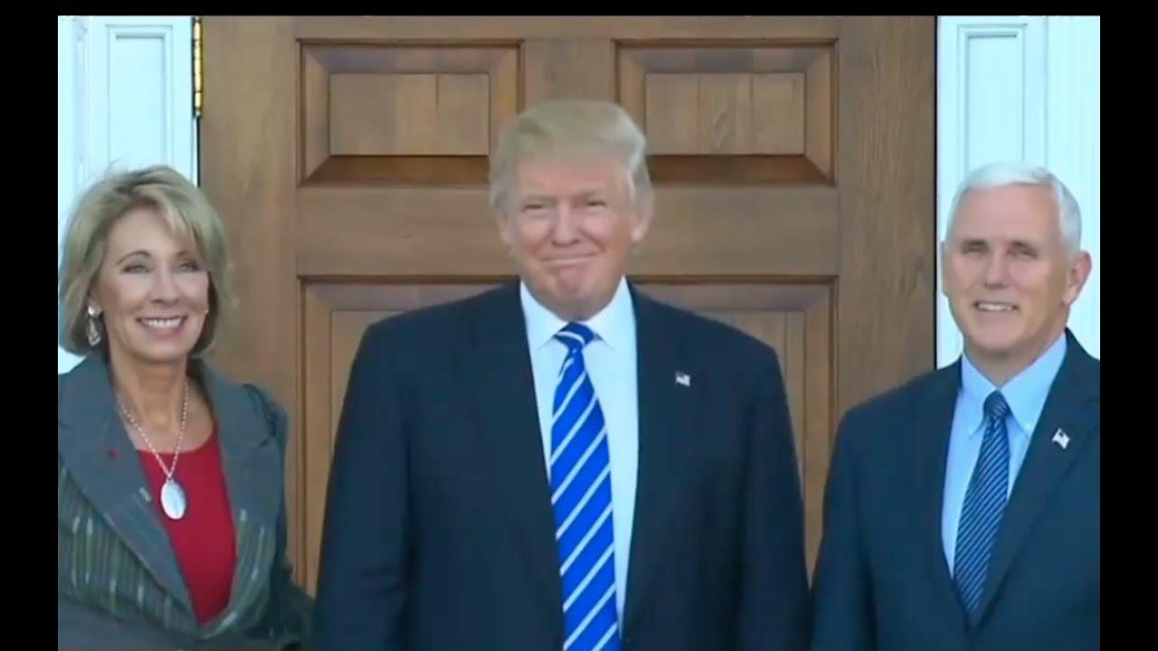 Donald Trump Calls for Unity 11/24/16 5