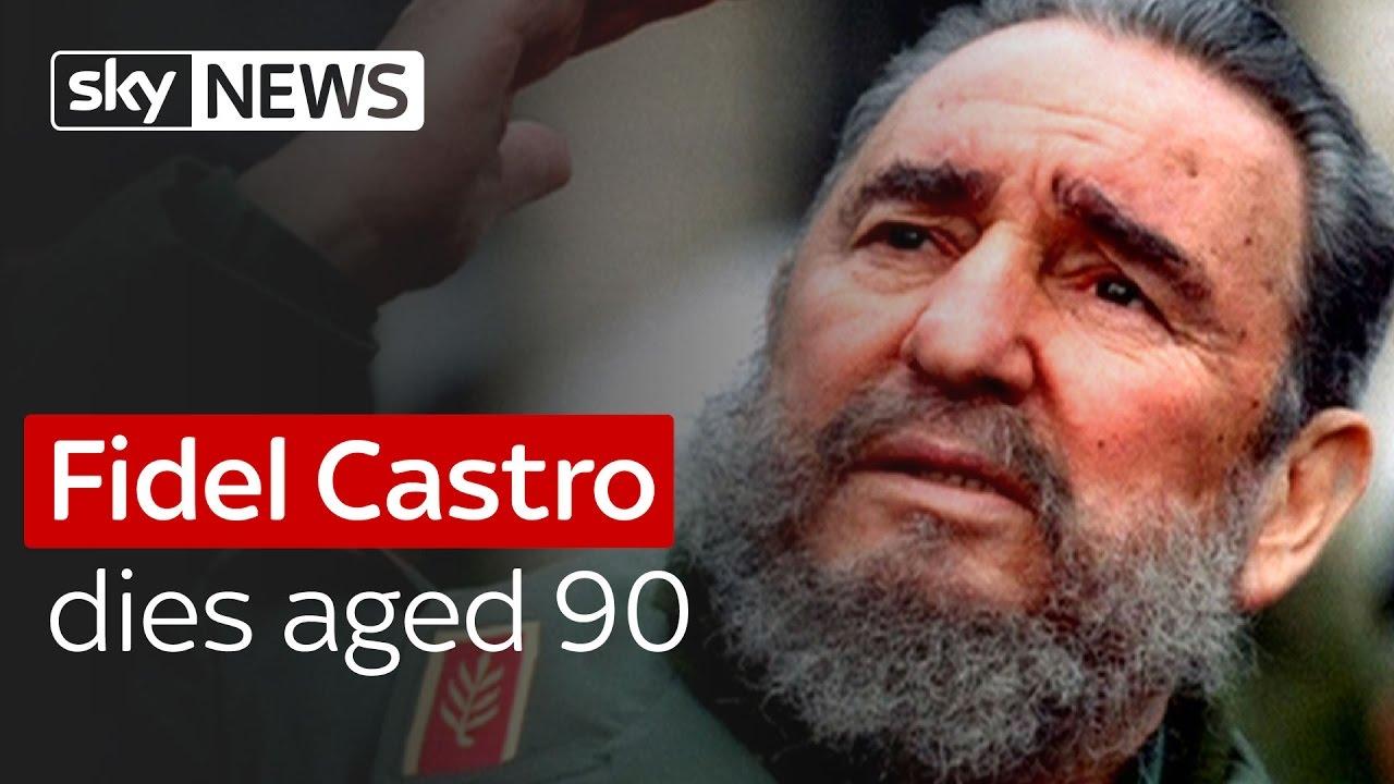 Fidel Castro dies aged 90 4