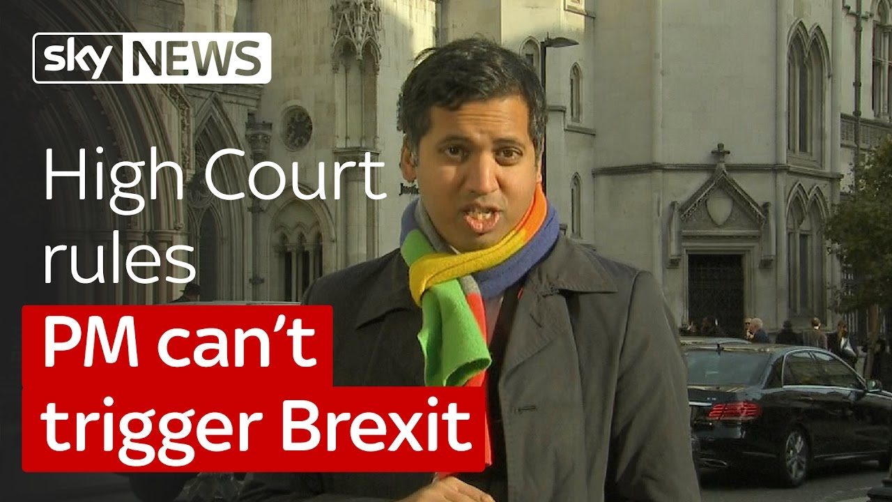 Campaigners win a landmark High Court victory over Brexit 8