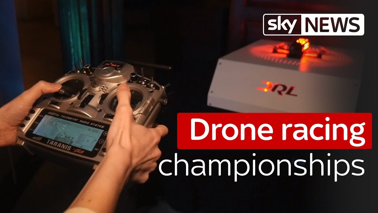Swipe: The drone racing league championships are coming to London 3