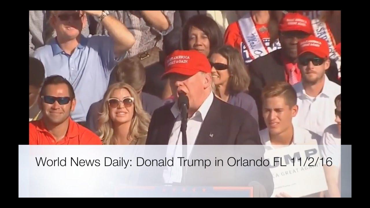 Full Speech: Donald Trump Rally 11/2/16: Orlando, Florida 9