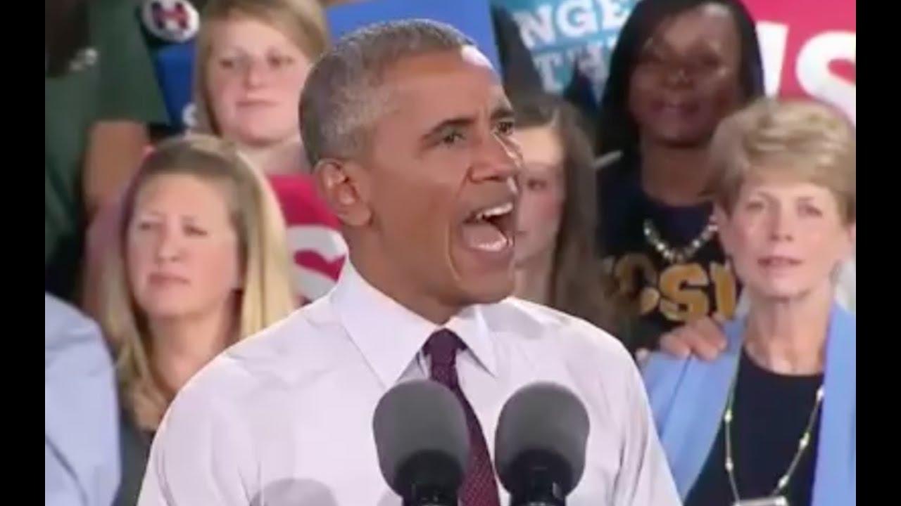 President Obama Speech 11/4/16: Charlotte, North Carolina 6