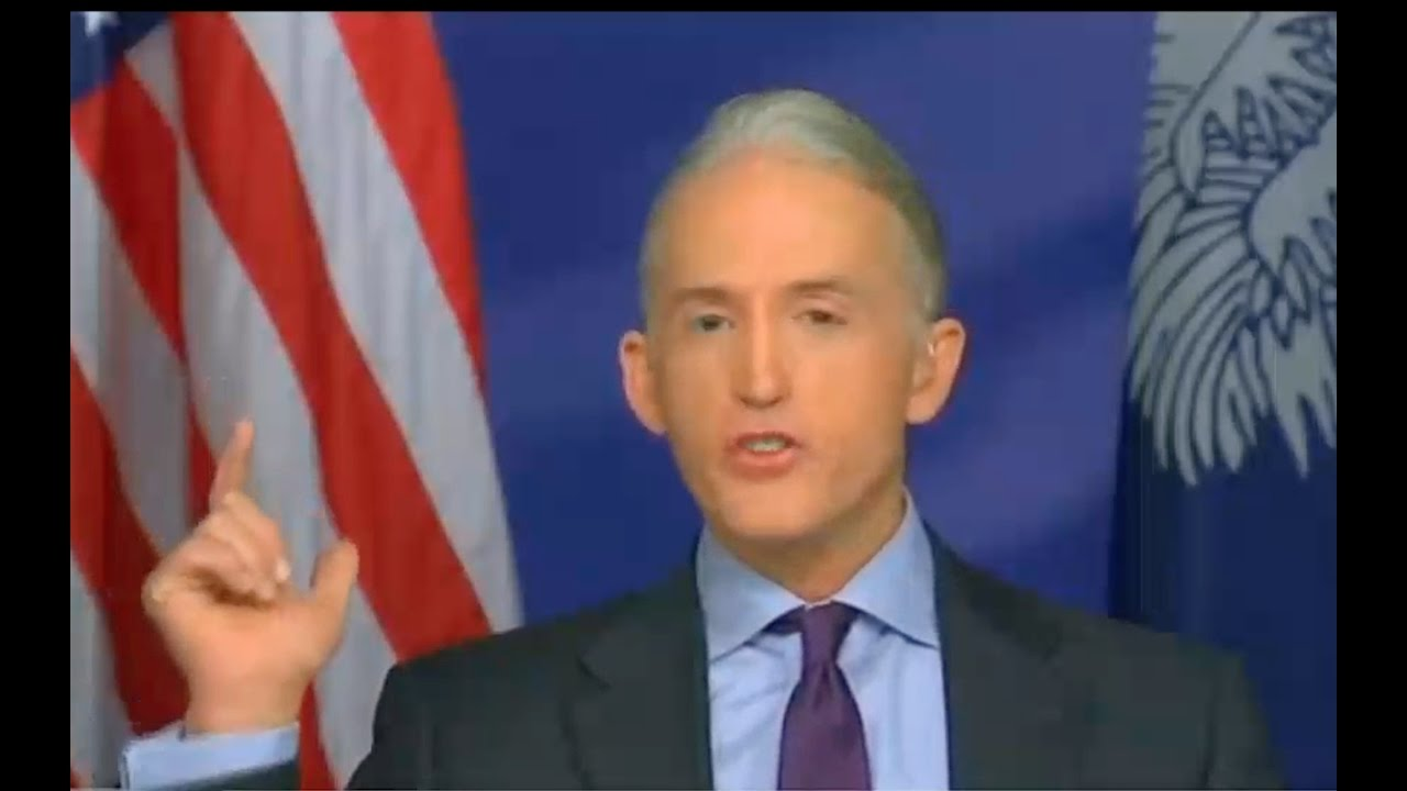 Trey Gowdy Interview About Hillary Clinton Criminal Investigation 11/6/16 4