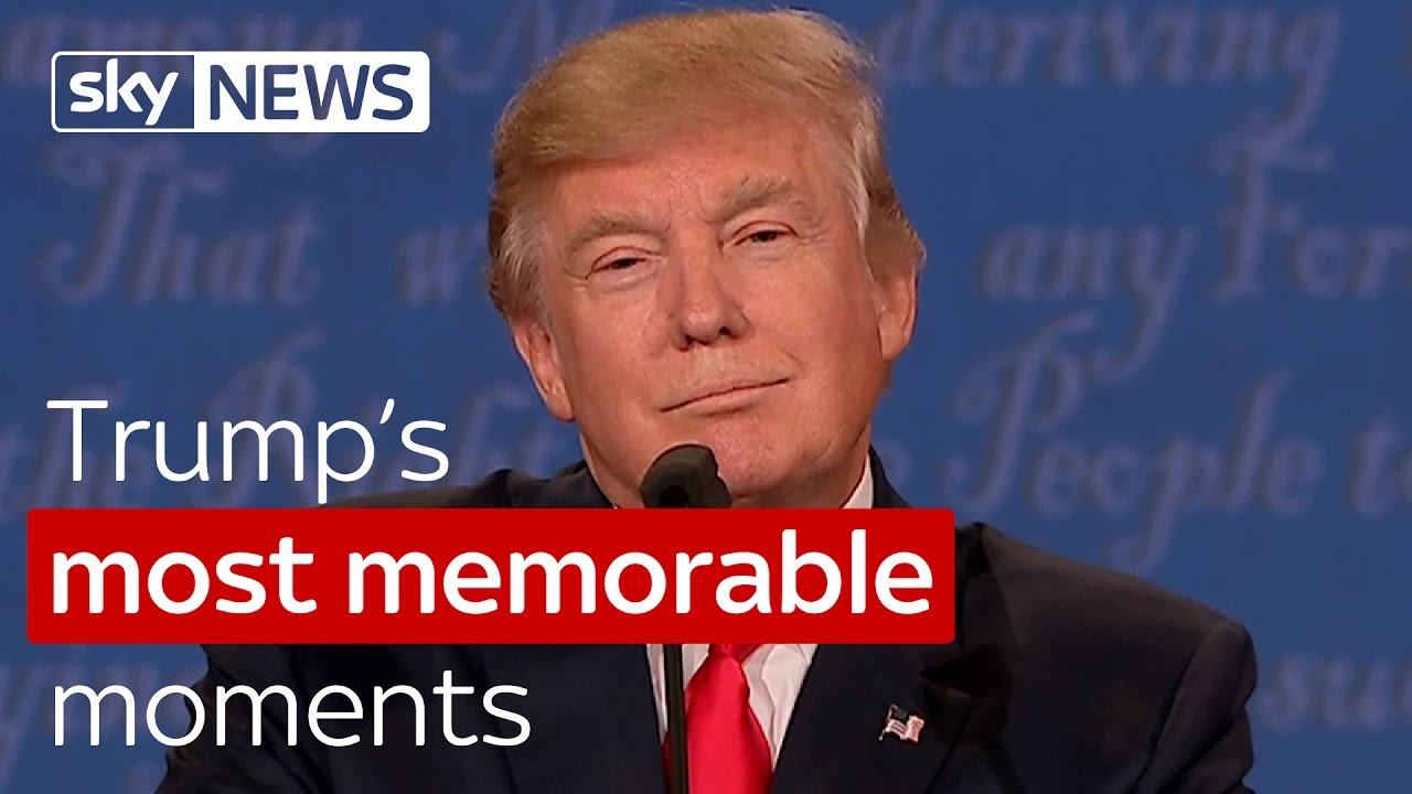Trump's most memorable moments 2