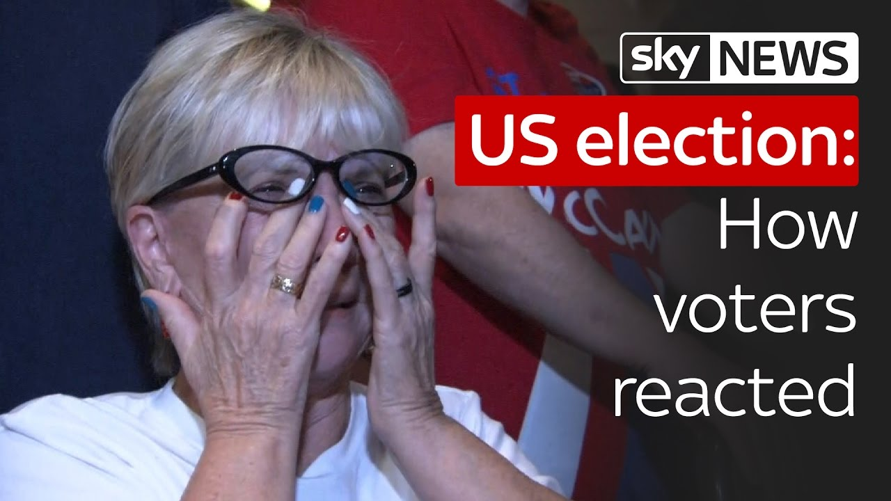 US election 2016: How voters reacted to the incredible result 4