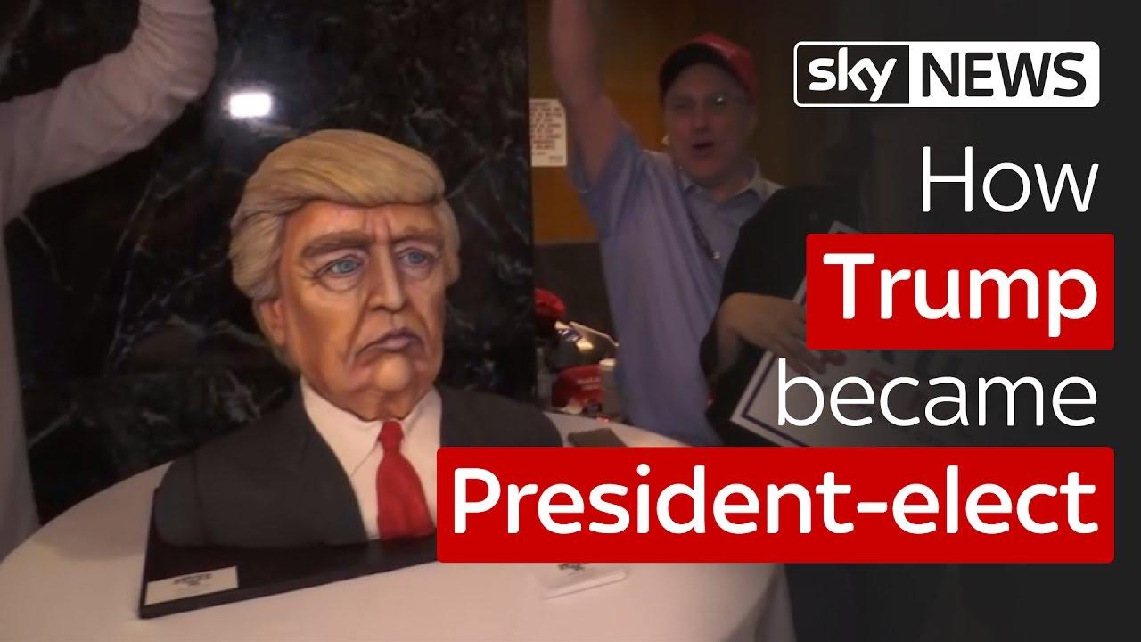 How Donald Trump became President-elect 1