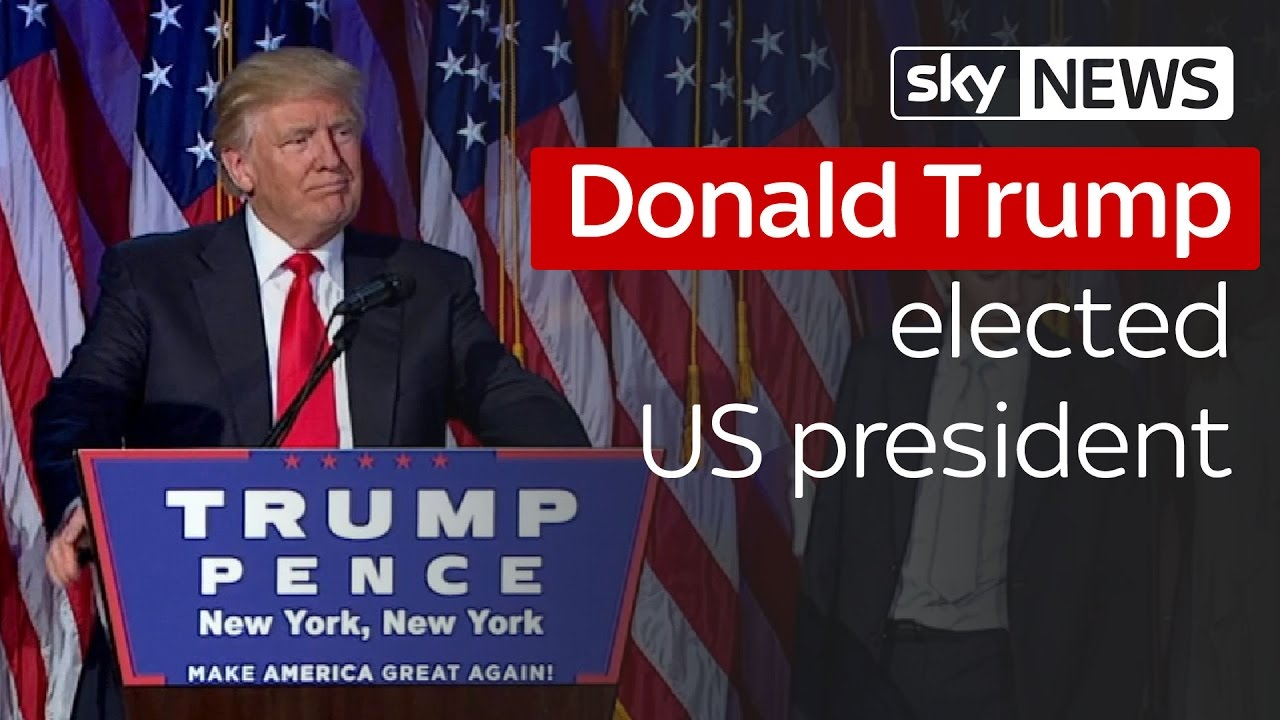 Donald Trump wins US election 3