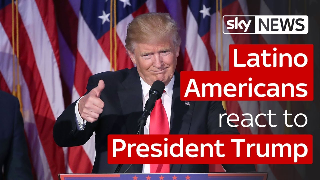 Latino Americans react to President Trump 2