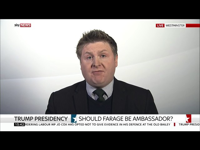 Should Nigel Farage become ambassador to the US? 10