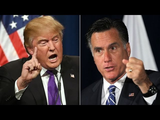 Is Donald Trump Messing with Mitt Romney? 11/27/16 2