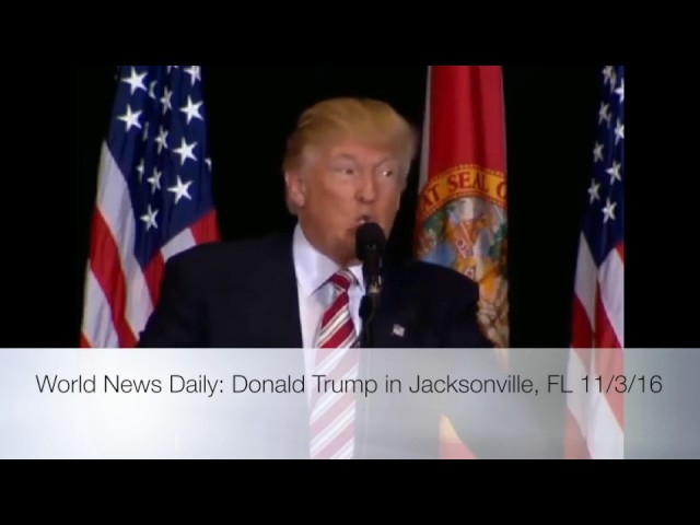 Donald Trump Speech in Jacksonville FL 11/3/16 5