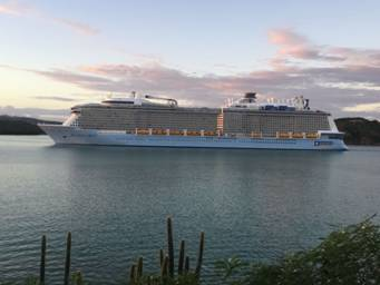 Fwd: Antigua and Barbuda celebrates historic arrival of the MS Anthemof the Seas 4