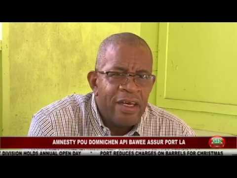 GIS Dominica, National for November 8, 2016 2