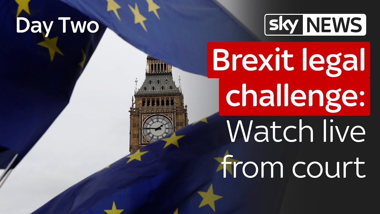 Brexit legal challenge: Day Two live from court 6