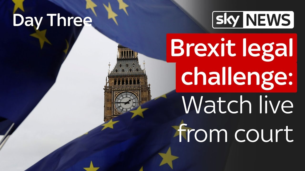 Brexit legal challenge: Day three live from court 6