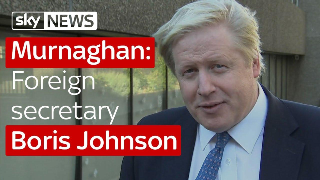 Murnaghan: Foreign secretary Boris Johnson 5