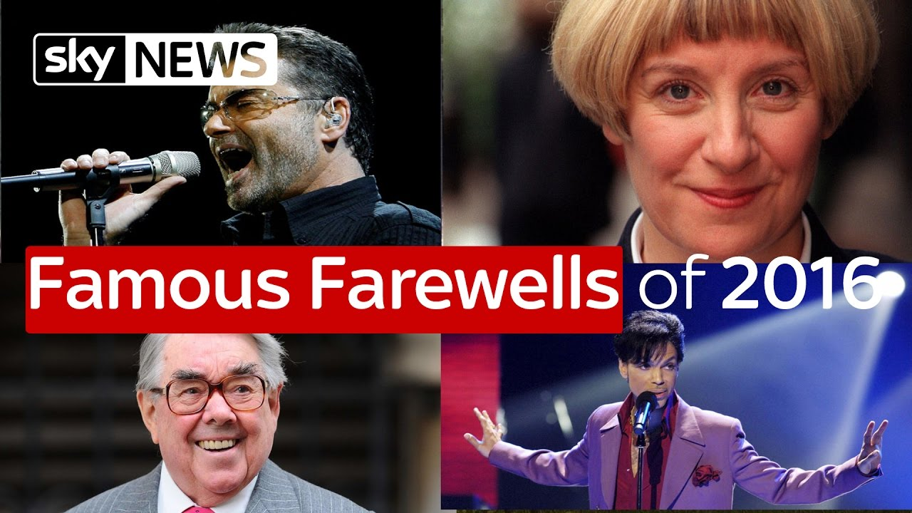 Famous Farewells Of 2016 7