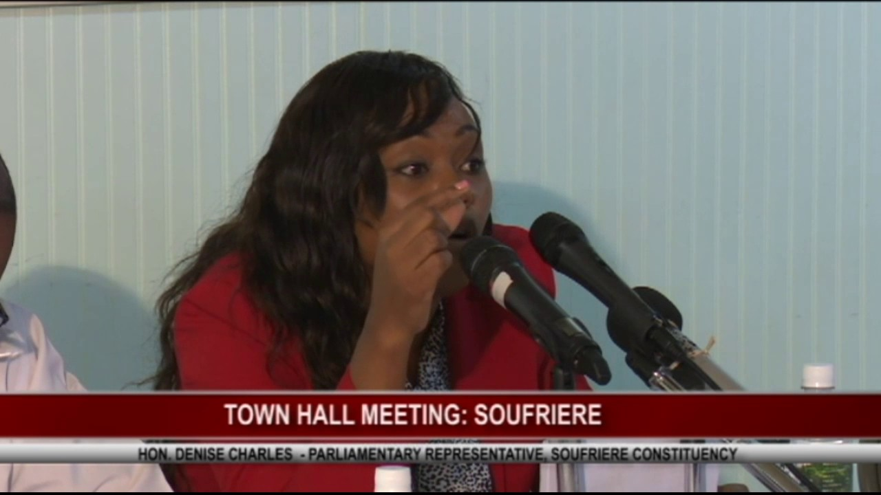 TOWN HALL MEETING IN SOUFRIERE - April 19 ,2017 6