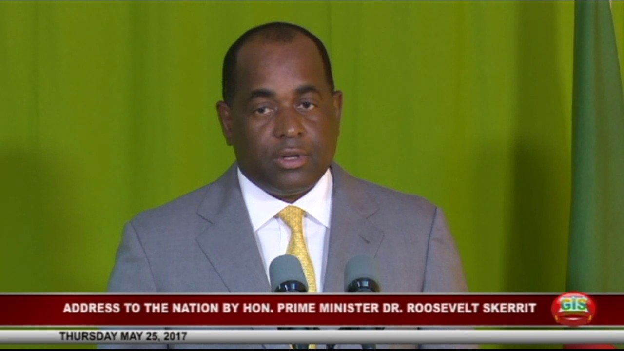 Address to the nation by the Hon. Prime Minister Dr. Roosevelt Skerrit 12
