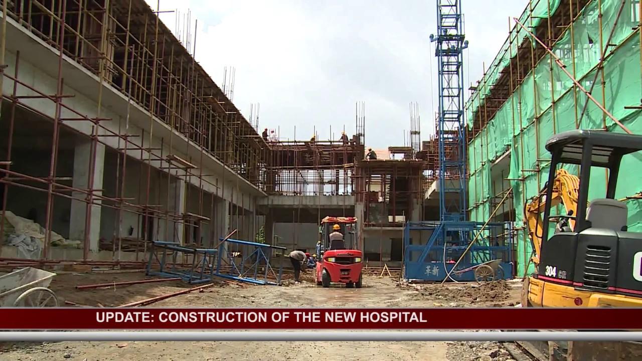 UPDATE ON PROGRESS OF NEW NATIONAL HOSPITAL 5