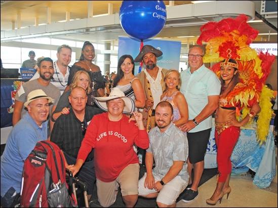 The Cayman Islands Celebrates Inaugural Southwest Airlines Flight 2