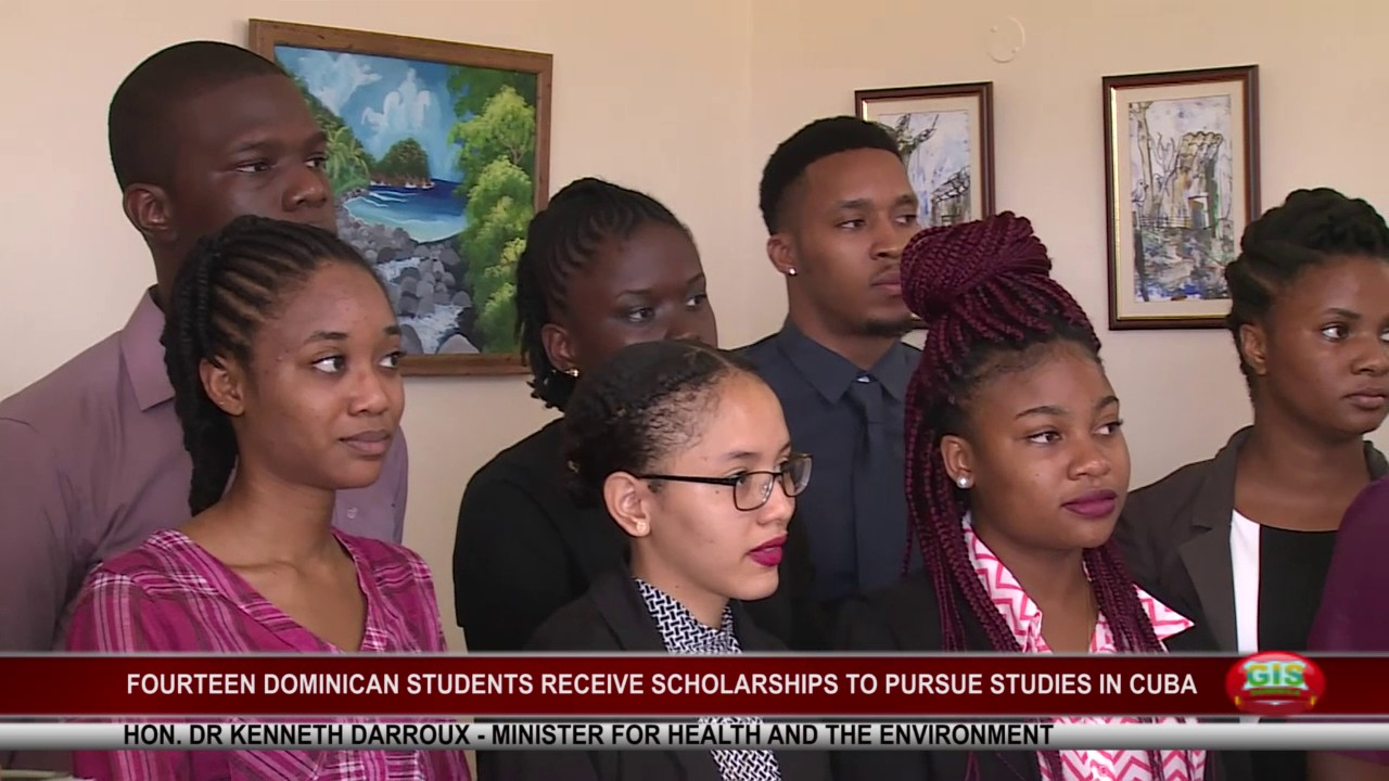 14 DOMINICAN STUDENTS OFF TO CUBA TO FURTHER STUDIES 2