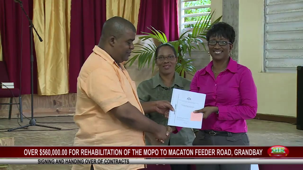 OVER $560K FOR REHABILITATION OF MOPO TO MACATON FEEDER ROAD 12