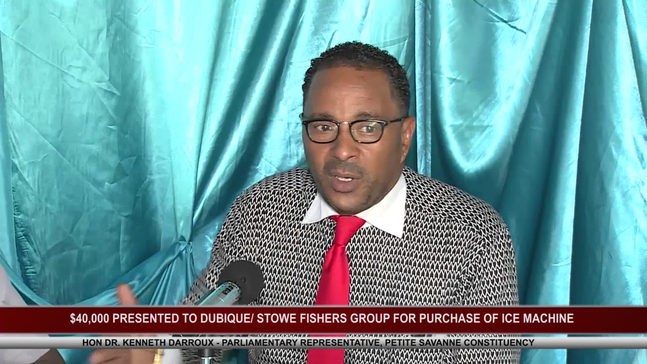 $40,000 FOR DUBIQUE STOWE FISHERS GROUP 8
