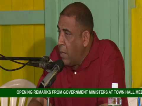 GOVERNMENT TOWN HALL MEETING IN TRAFALGAR 3