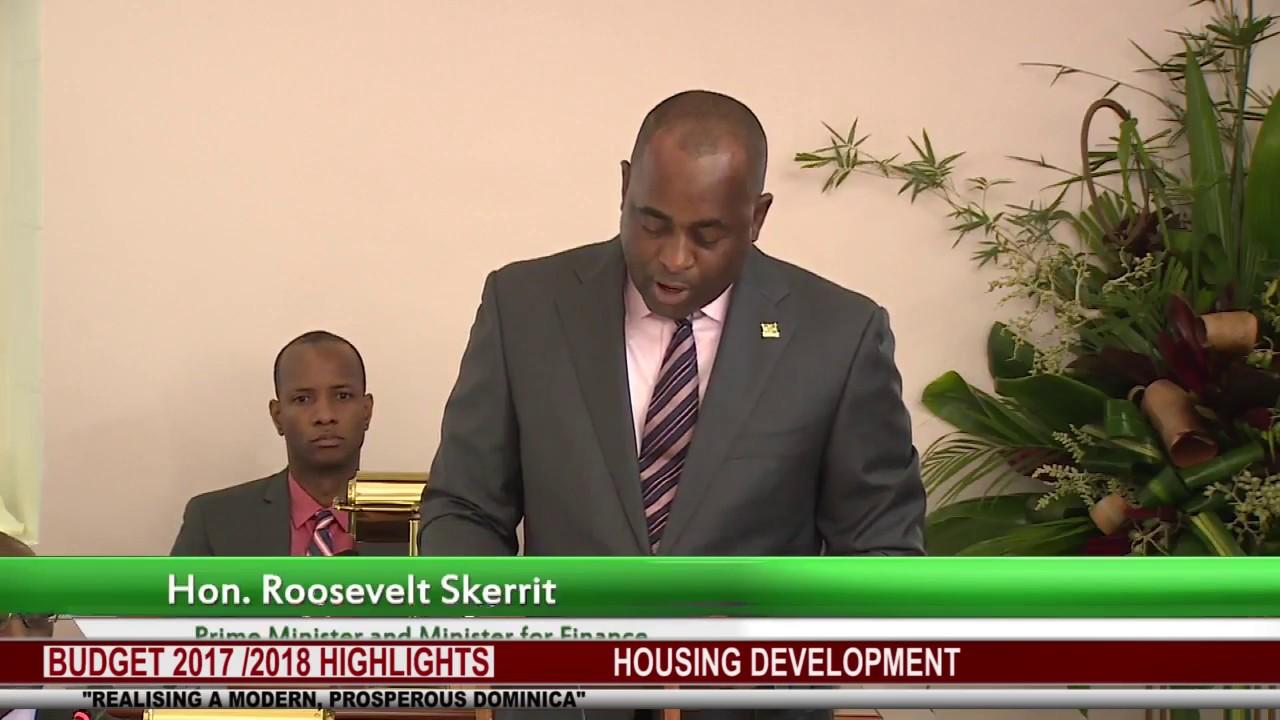 BUDGET 2017 2018 HIGHLIGHTS: HOUSING DEVELOPMENT 6