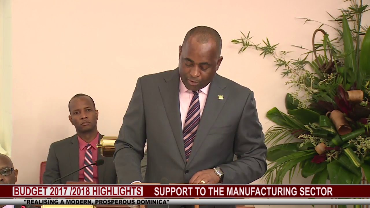 2017 2018 BUDGET HIGHLIGHTS : SUPPORT TO THE MANUFACTURING SECTOR 6