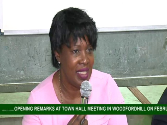 GOVERNMENT TOWN HALL MEETING IN WOODFORDHILL 5