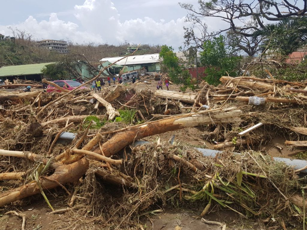<a class='interlink' href='https://sakafete.com/2017/10/20/caribic-vacations-group-captivated-orange-bay-tour/'>Dominica</a> Post Hurricane Maria Update Hurricane Maria Damaged Dominica